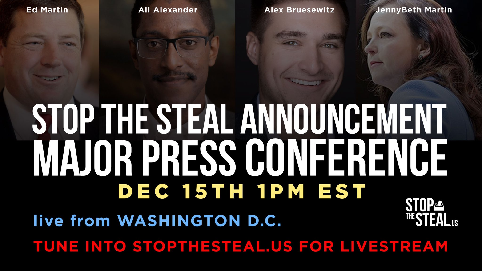 LIVE: Trump Electors, Stop The Steal Coalition Hold Press Conference on Capitol Hill