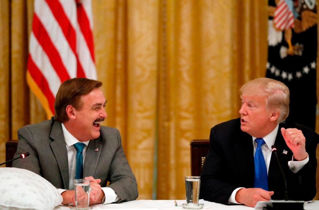 Mike Lindell Sues Dominion for .6 Billion