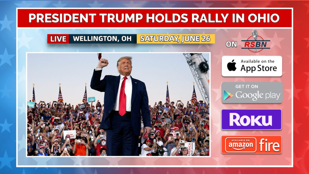 """Trump Announces Rally to """"Save America"""" In Ohio on June 26"""