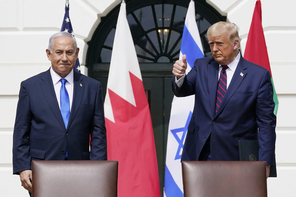 Today marks 1 year anniversary of the Abraham Accords brokered by President Trump